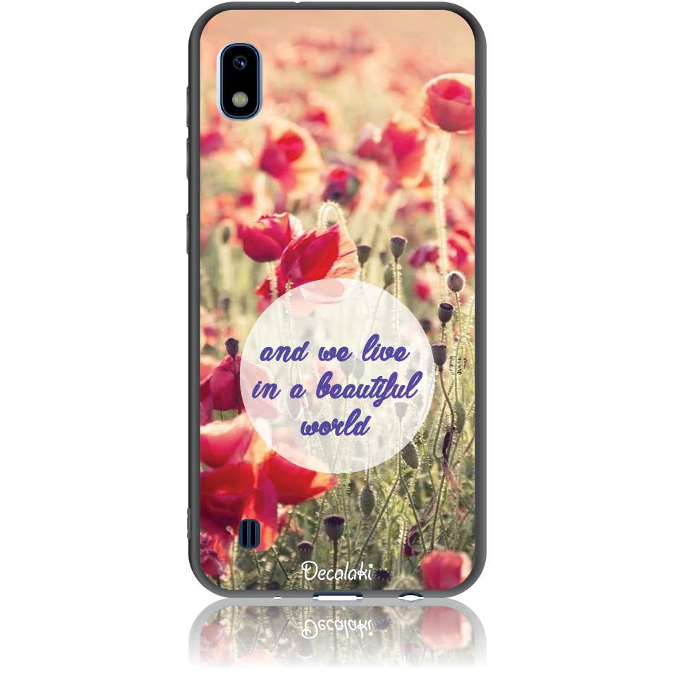 Case Design 50231  -  Samsung Galaxy A10  -  Soft Tpu Case