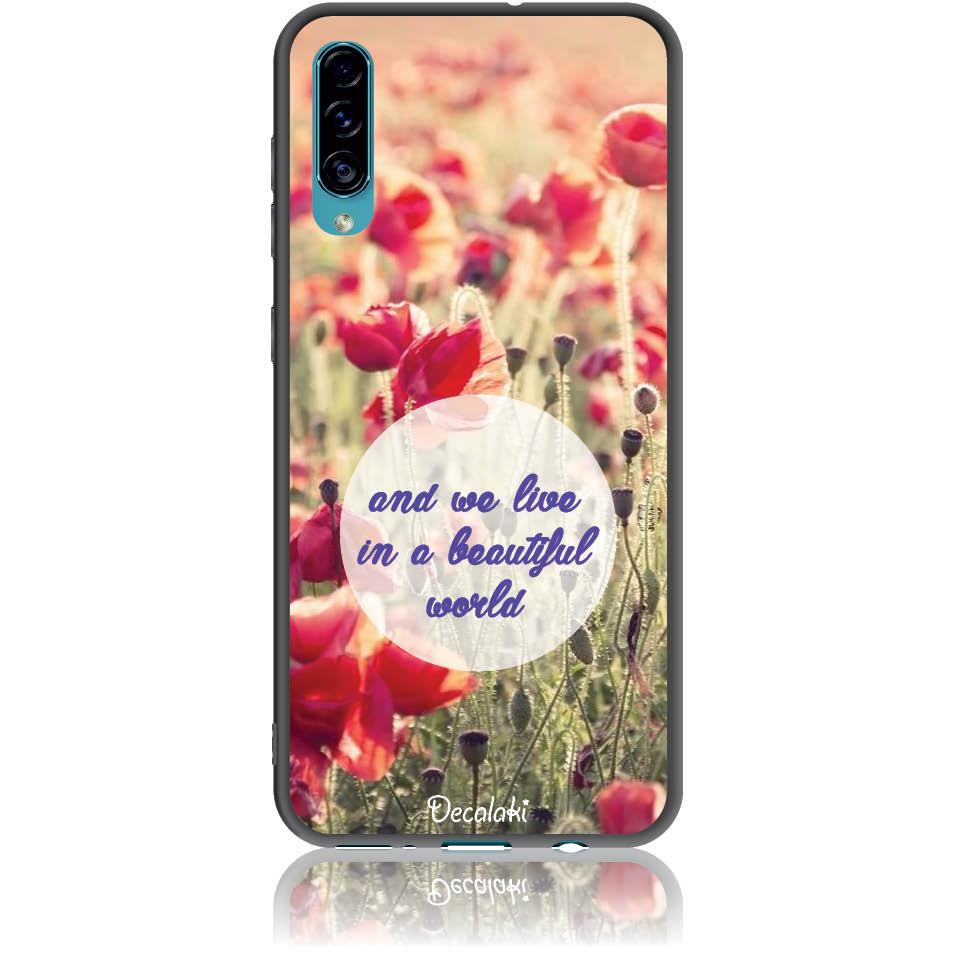 Case Design 50231  -  Samsung Galaxy A30s  -  Soft Tpu Case