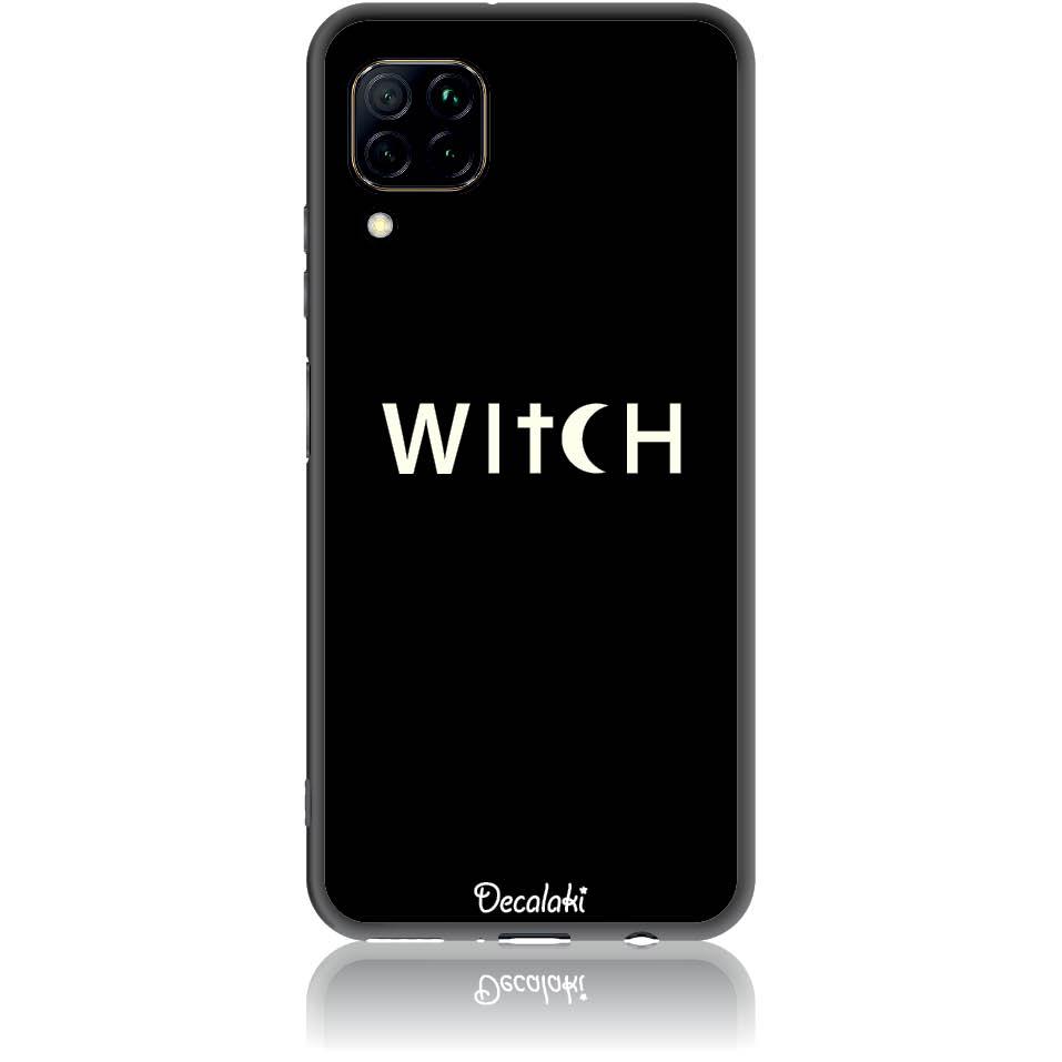 Witch Black Phone Case Design 50235  -  Huawei Nova 7i  -  Soft Tpu Case