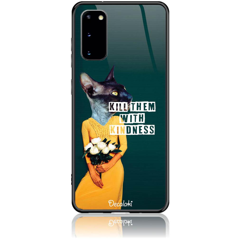 Case Design 50195  -  Samsung S20  -  Tempered Glass Case
