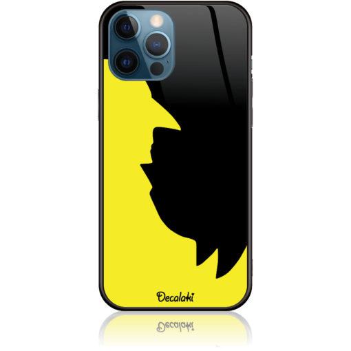 Minimal negative look Batman-Birdman Black Yellow Phone Case Design 50019