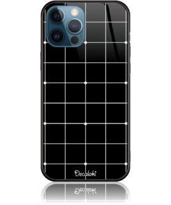 Pattern Black lines Case Design 50035