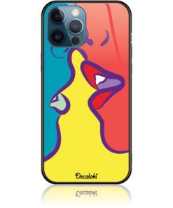 Pop Art Kiss Phone Case Design 50074