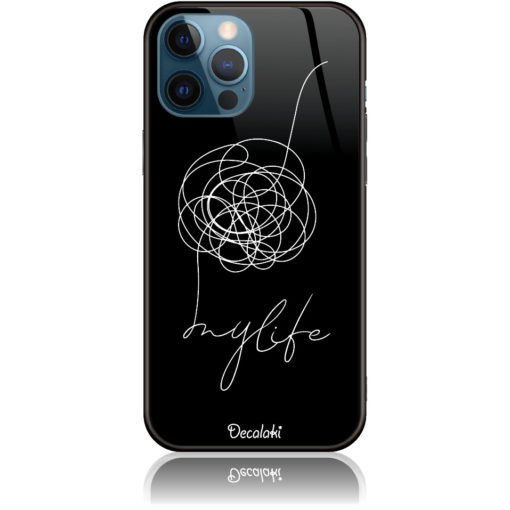 Life Is A Mess Phone Case Design 50150