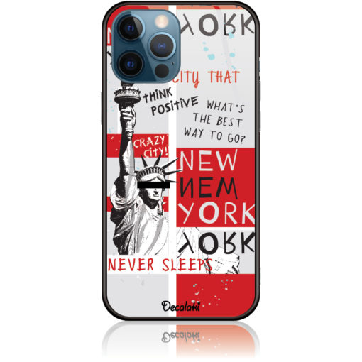 Crazy City New York Phone Case Design 50159