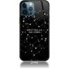 Written in Stars Black and White Sky Phone Case Design 50162