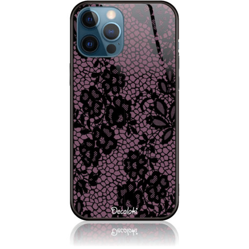 Purple Flower Pattern Phone Case Design 50182