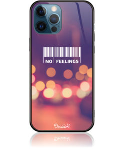 No Feelings Barcode Phone Case Design 50223