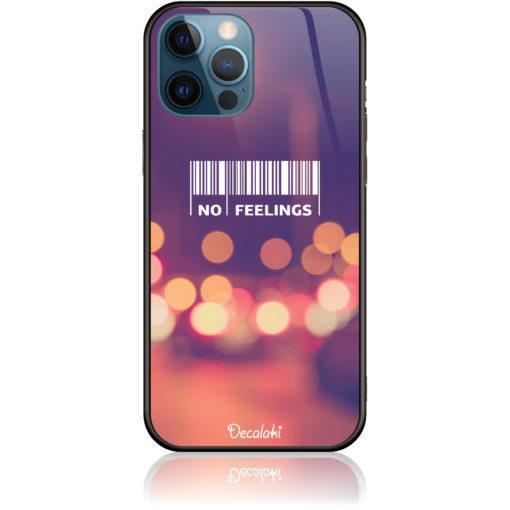 No Feelings Barcode Phone Case Design 50223