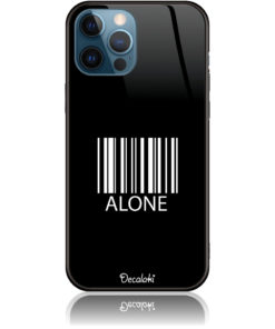 Alone Barcode Art Phone Case Design 50283
