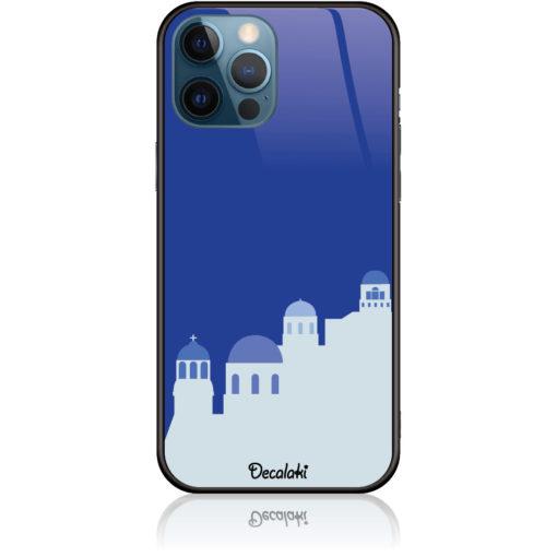 Santorini Pure Blue Phone Case Design 50294