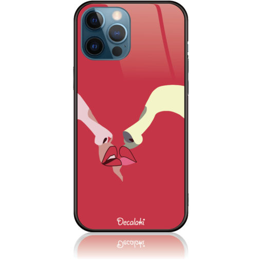 Red Lovers Phone Case Design 50297