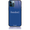 Freedom Blue Phone Case Design 50307