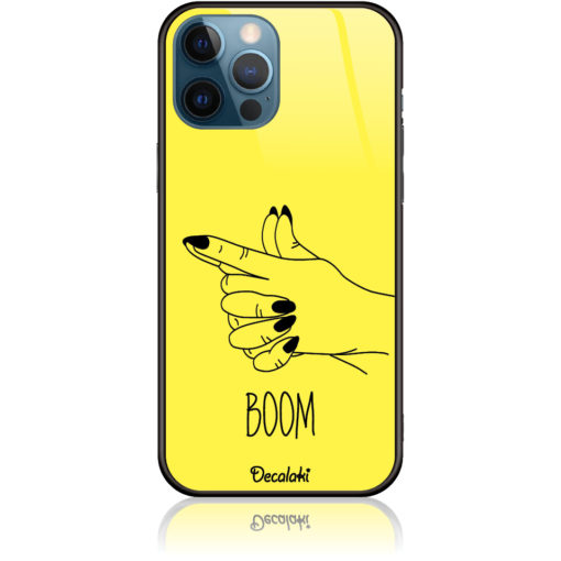 Yellow Boom Girl Gung Phone Case Design 50319
