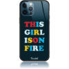 Girl Is On Fire Phone Case Design 50325