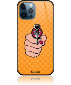 Love Gun Pop Art Phone Case Design 50333