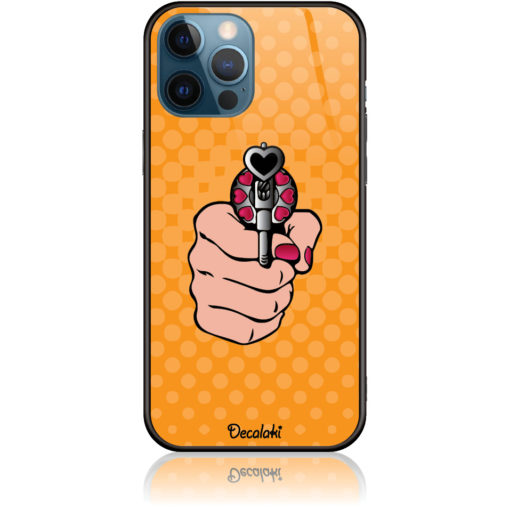 Love Gun Pop Art Phone Case Design 50333