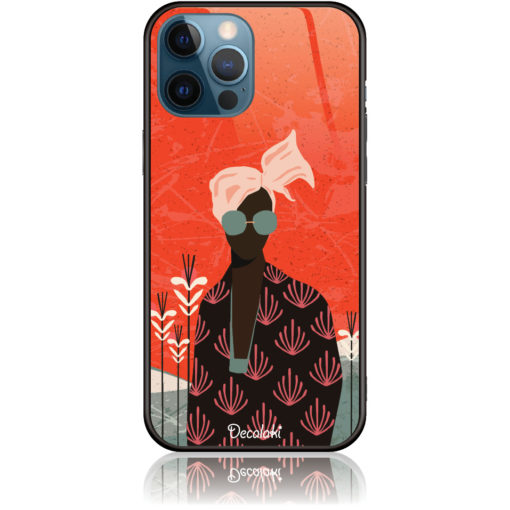 Melanin Afro Beauty Phone Case Design 50348
