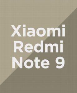 Customize Redmi Note 9
