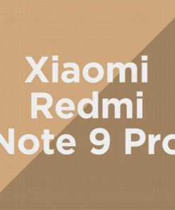 Customize Redmi Note 9 Pro