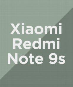 Customize Redmi Note 9s