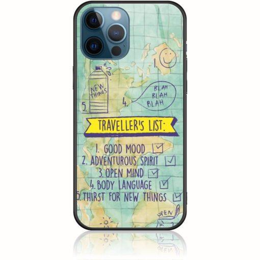 Traveller's List Phone Case Inspired By Mairiboo Design 202111