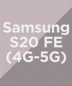 Customize Samsung S20 FE 4G/5G